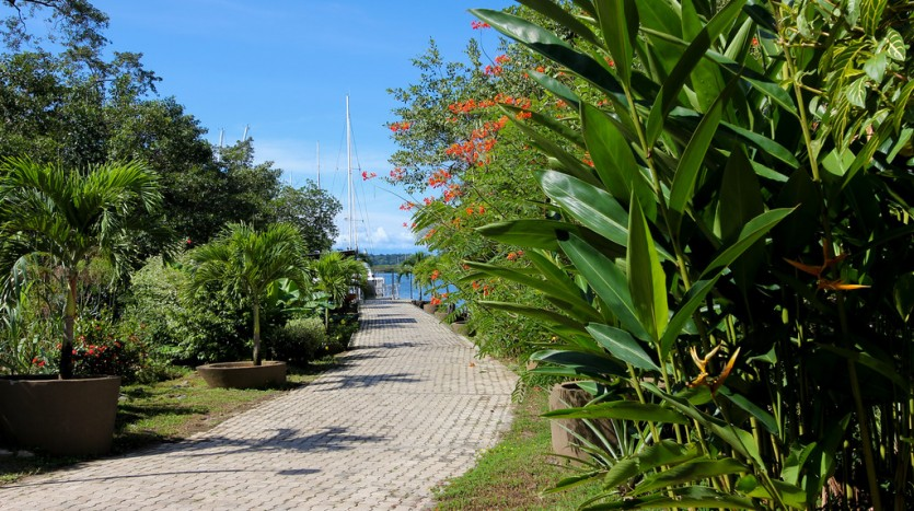 Red Frog Beach Island Resort Certified For Its: Bocas Del Toro Panama Marina Slips For Sale