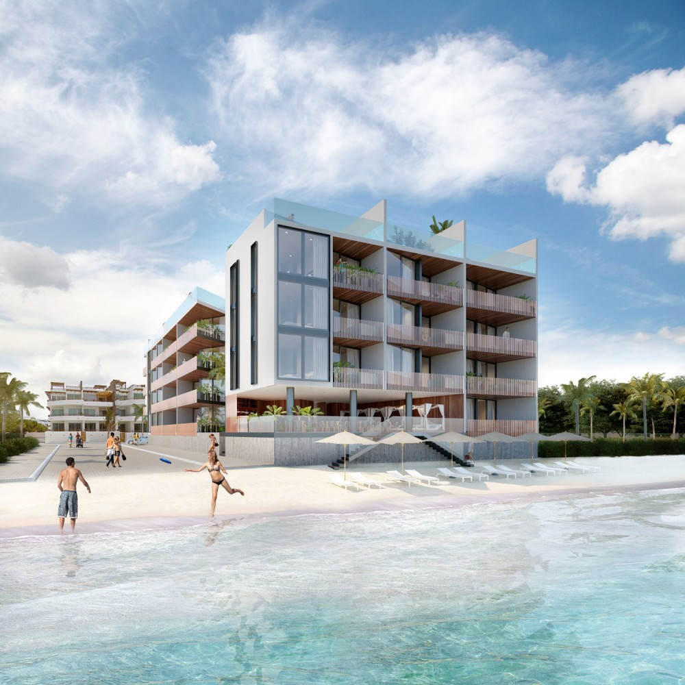 beachfront condos for sale in playa del carmen with penthouses