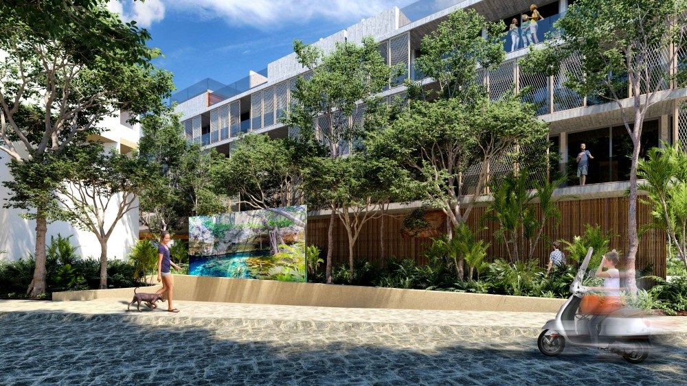 The Tuk Tulum Real Estate Investment Development Will Cover An Area Of 25 000 M2 With Its 4 Residential Towers 42 Apartments Each