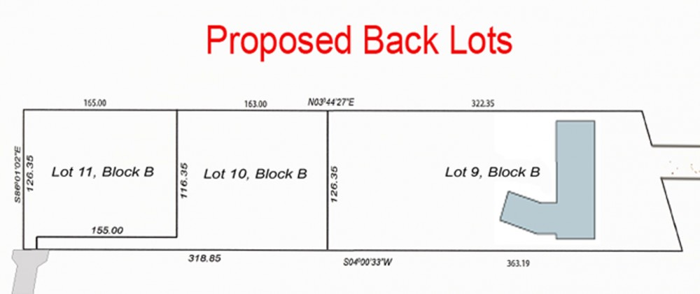 Proposed Lots