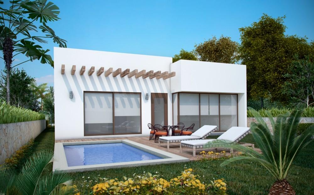 New Akumal Houses for Sale in Villas Caribe Bahia Principe